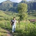 ラオスの山村で