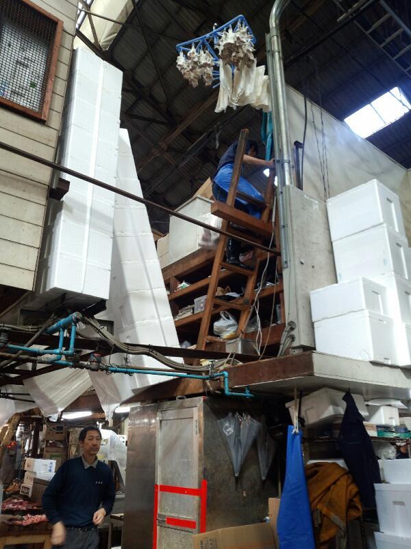 2014秋、築地市場2