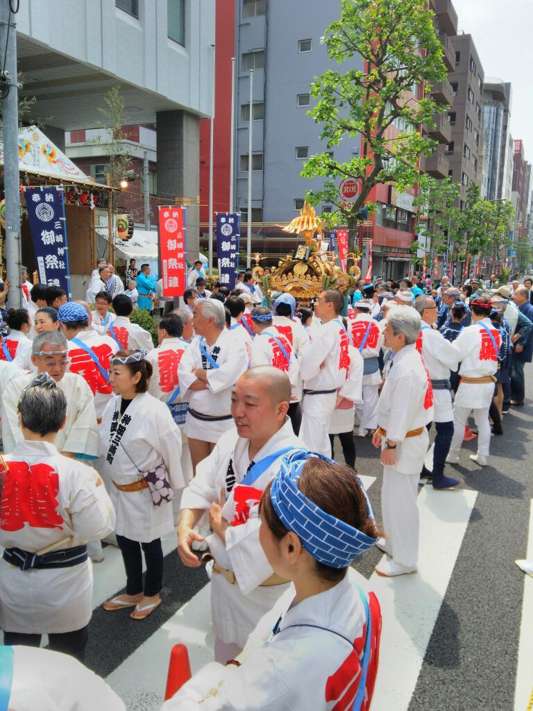 三崎神社の例大祭2016