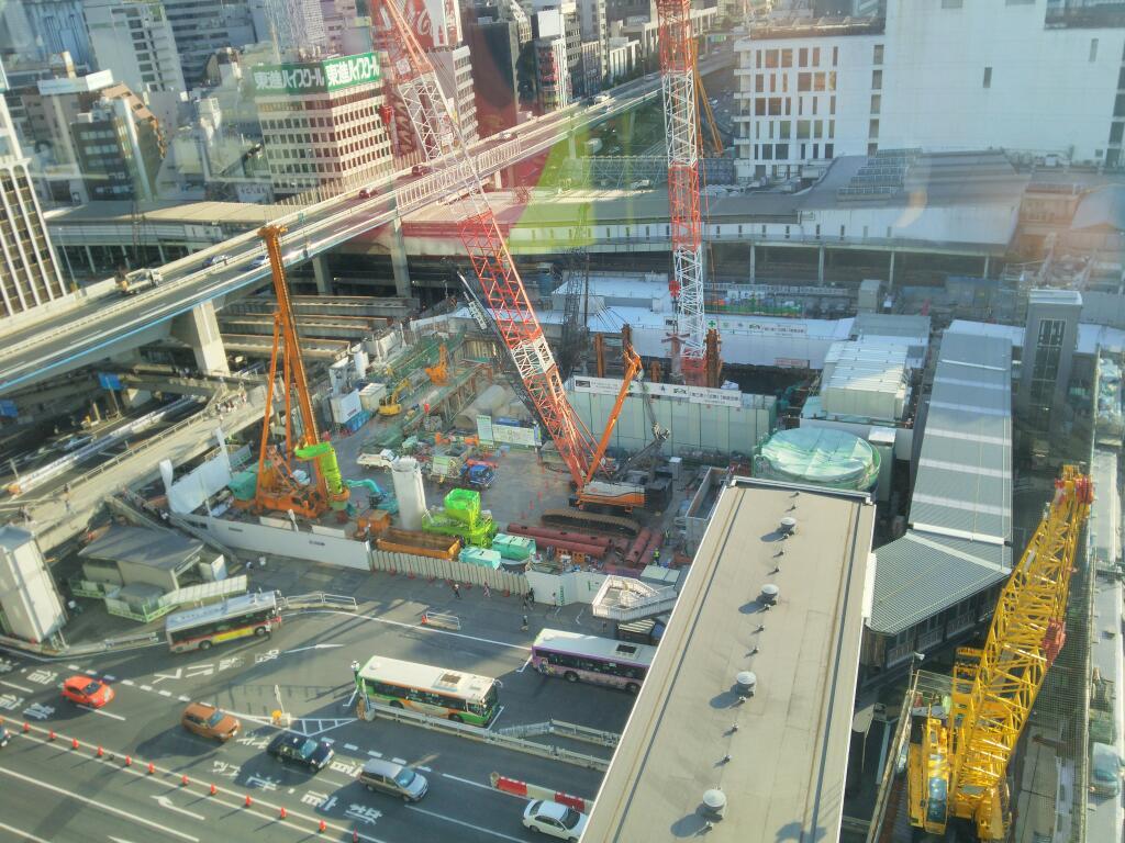 渋谷駅工事201606