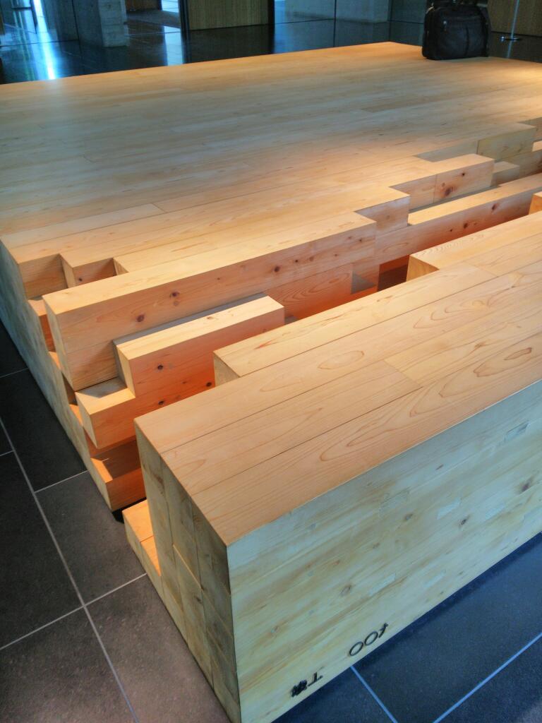 木材会館の快適空間