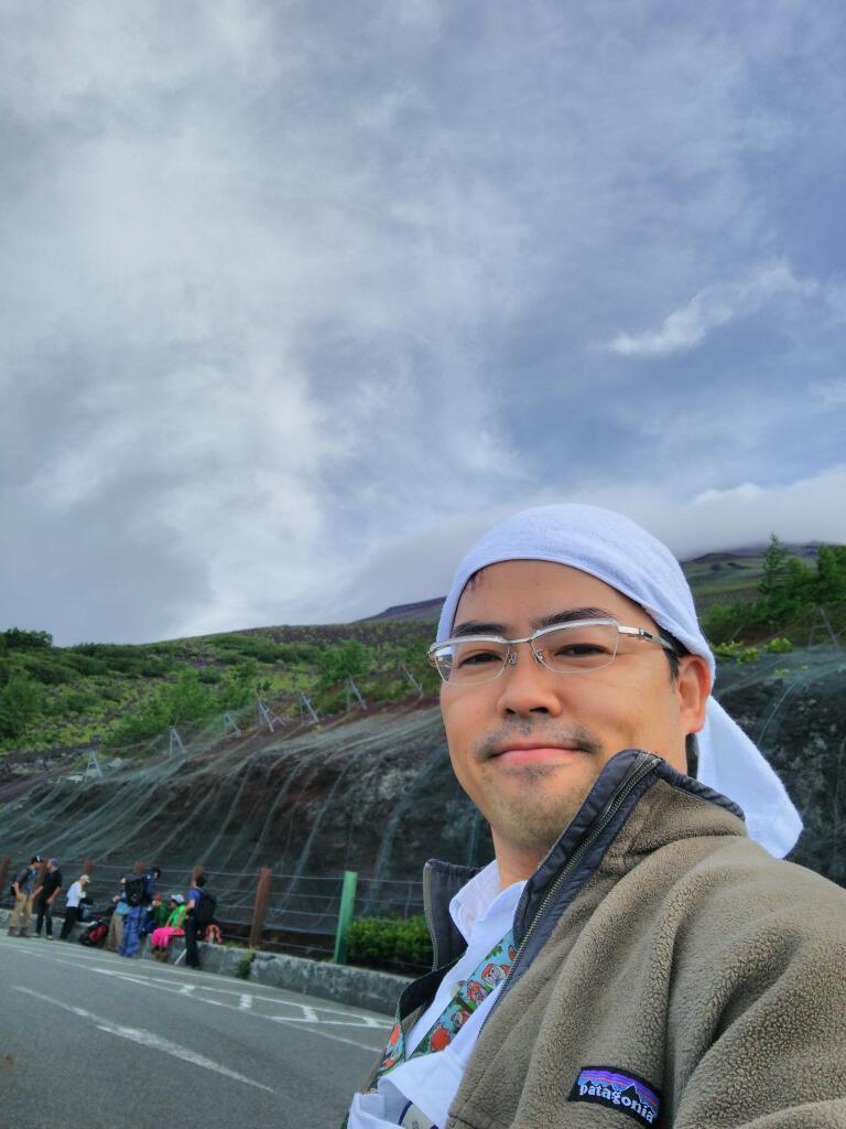 今年、一回目の富士山