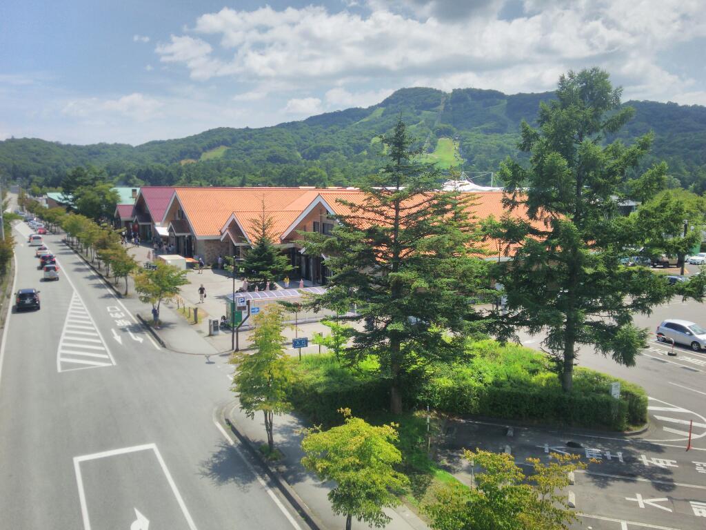 お盆の軽井沢