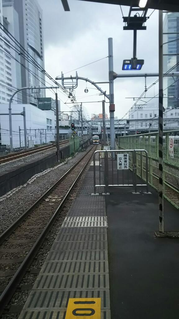 新宿駅ー代々木駅間がめっぽう短い