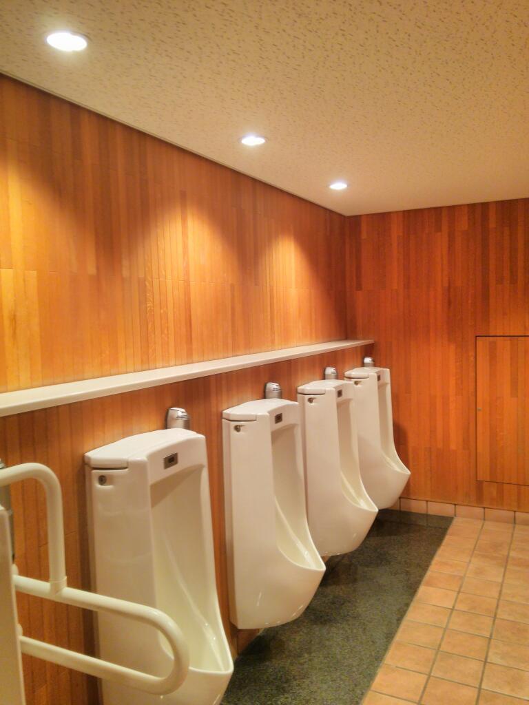 山崎蒸留所のトイレ