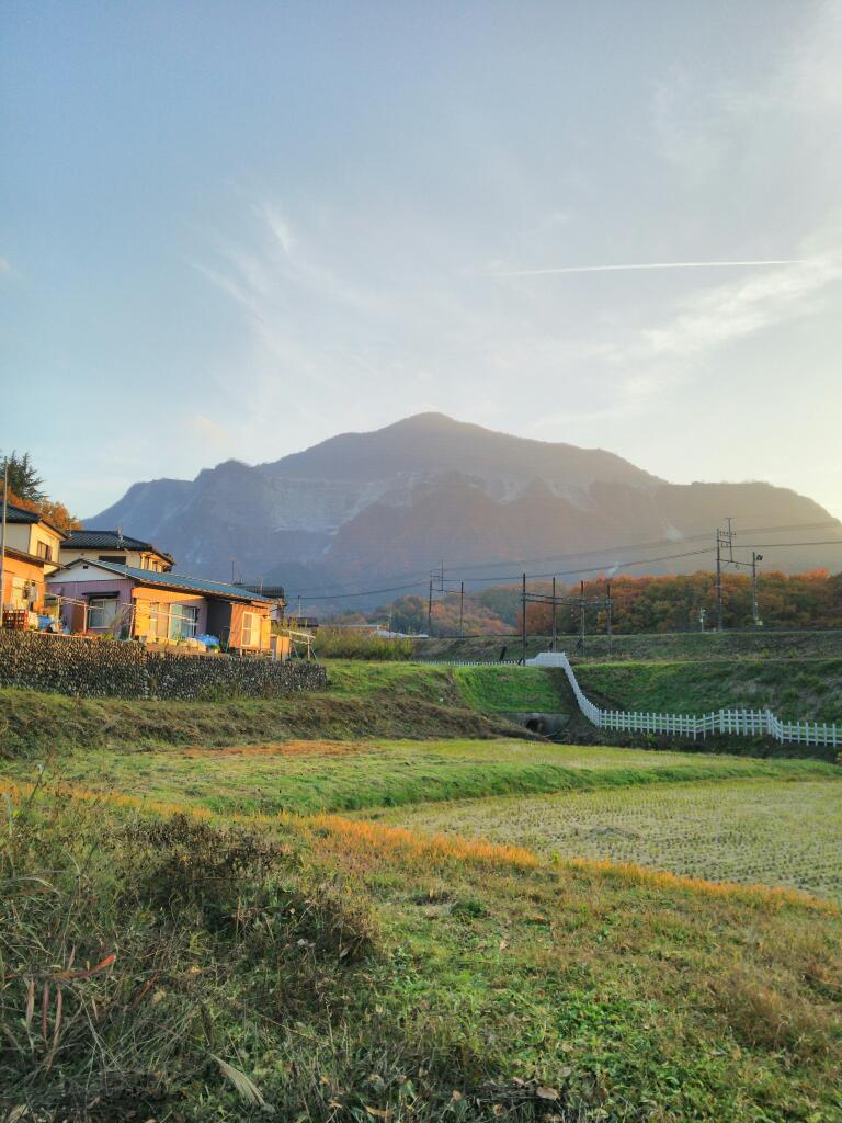 横瀬町から武甲山