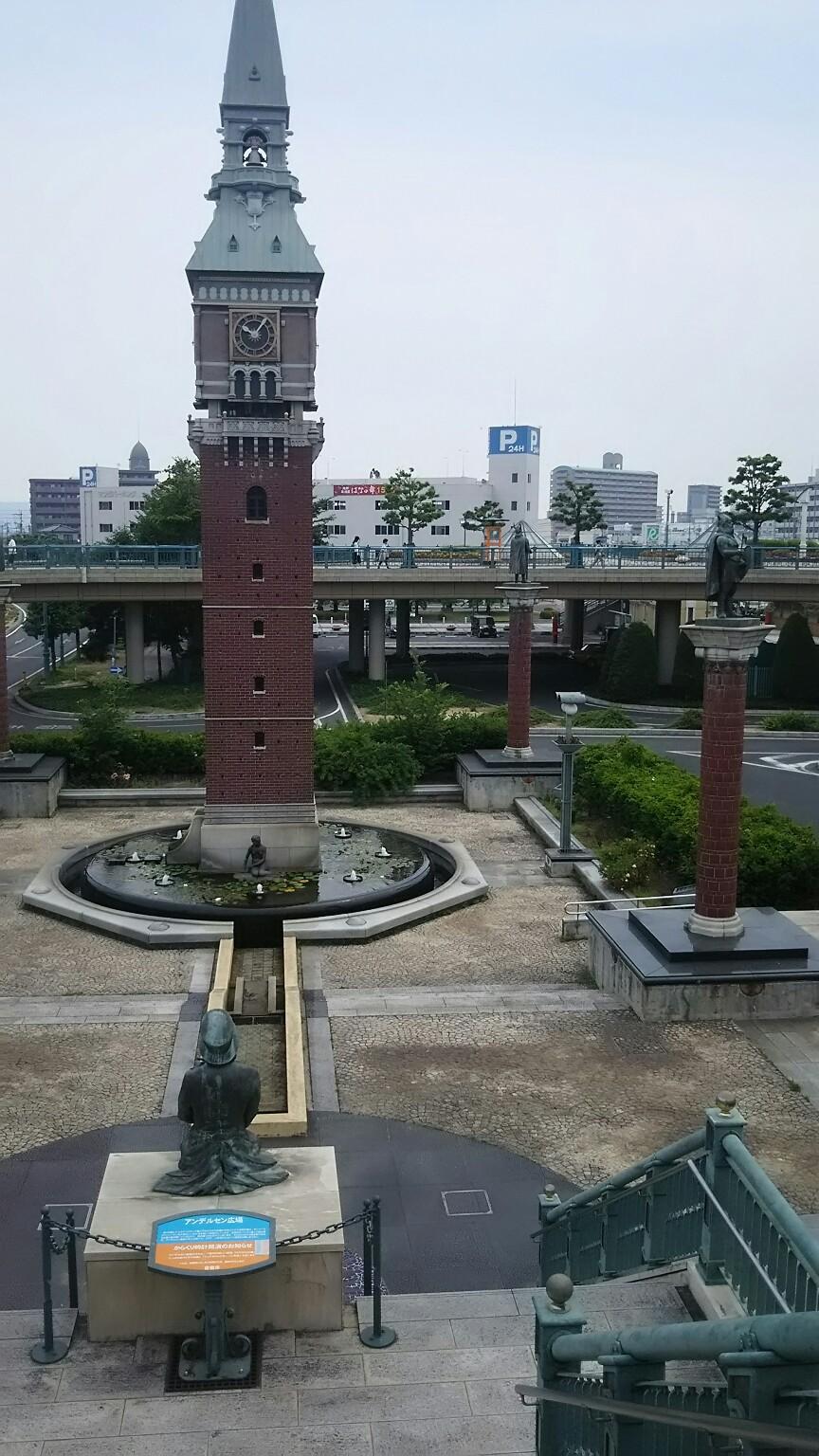 倉敷駅前アンデルセン広場