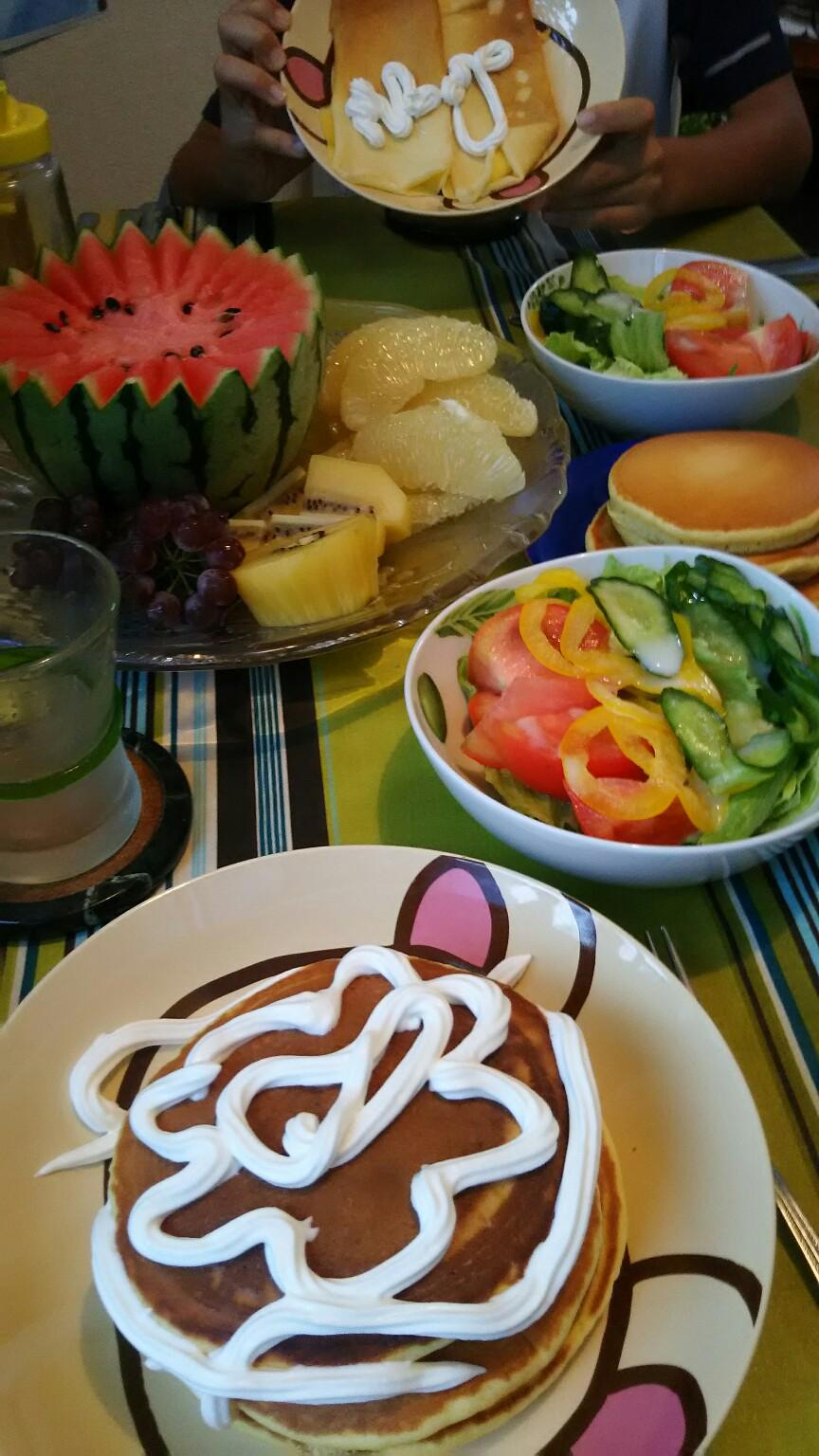 週末の昼食