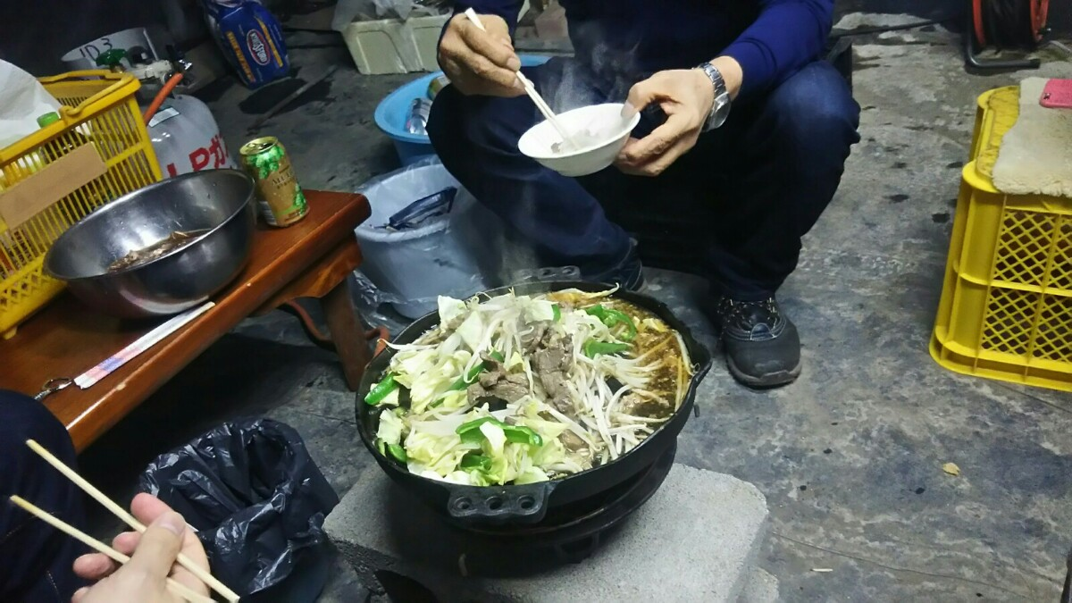ジンギスカン鍋をいただきました