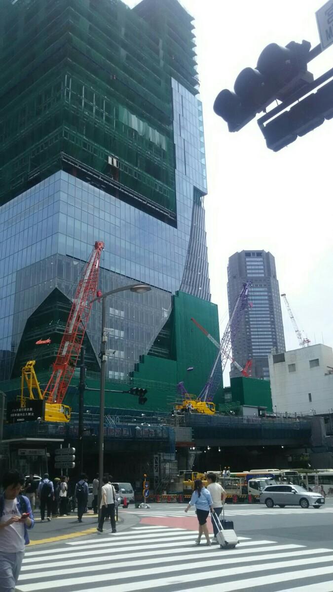 今日の渋谷駅前
